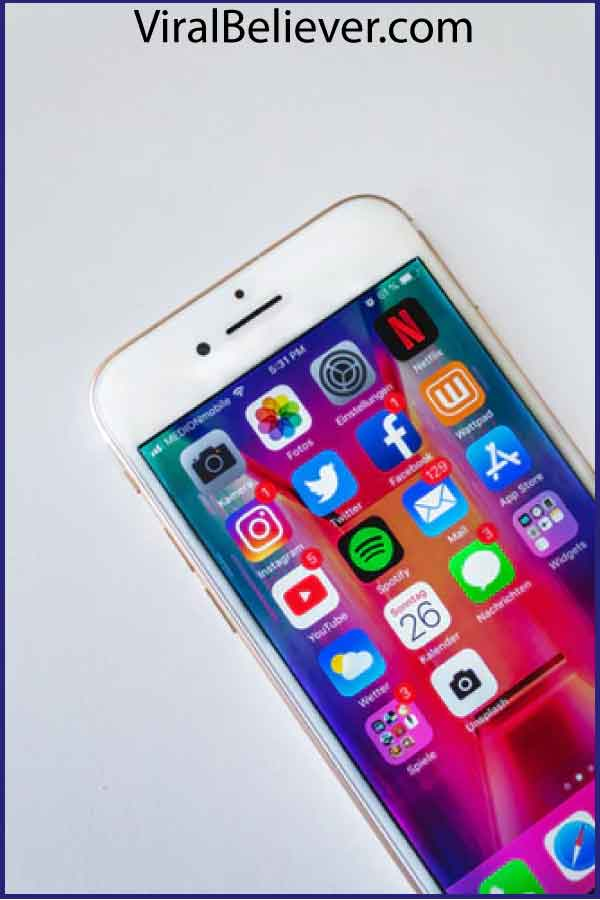Facebook on a cell phone featured image