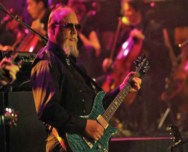 Kerry Livgren lead guitarist for Kansas